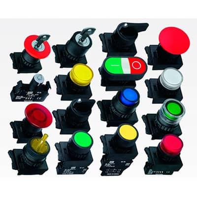 Você sabe o que representa cada cor dos botões de comando de uma máquina?
